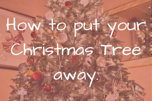 How to put your Christmas Tree away.