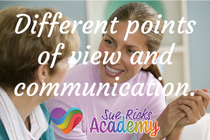 Different points of view and communication
