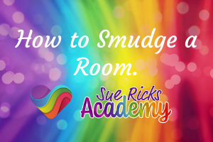 How to Smudge a Room