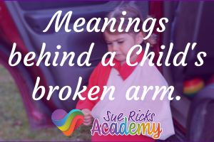 Meanings behind a Child's broken arm