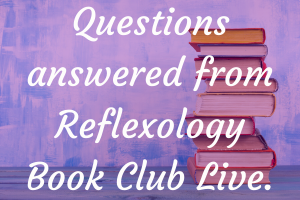 Sue Ricks - Answering Your Questions From Reflexology Book Club Live